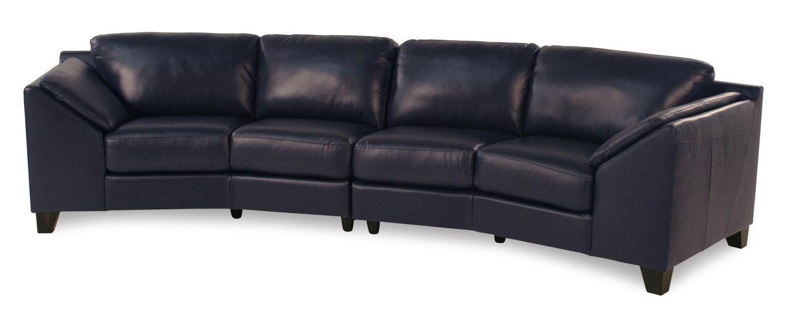 Regatta Contemporary Leather Sectional Sofa | Rotmans | Sectional Sofas pertaining to Leather Sectional Sofa