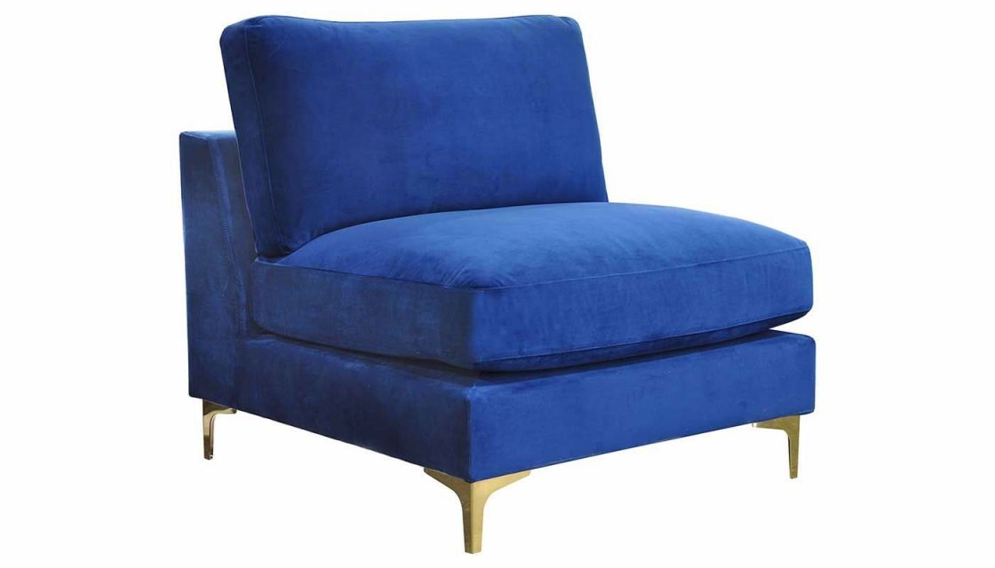 Rhodes Royal Blue Accent Chair intended for Best of Living Room Furniture Accent Chairs