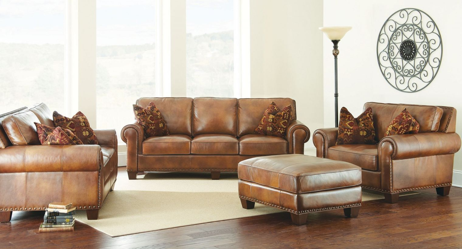 Silverado Leather Living Room Set regarding Awesome Leather Living Room Sets