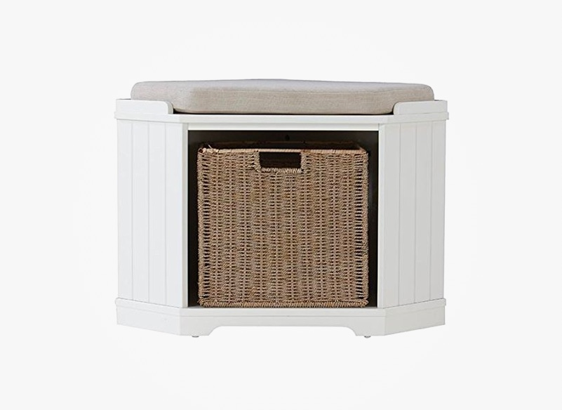 small-storage-bench-for-corner-includes-wicker-basket
