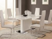 Sobe White & Black Modern Dining Table Set pertaining to Best of Dining Table Set