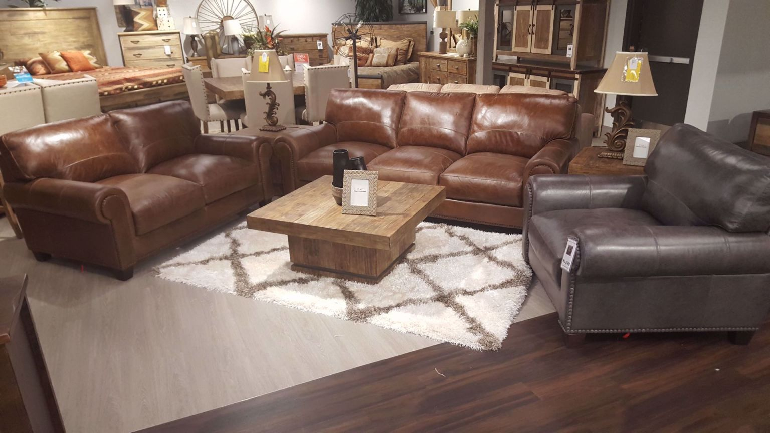 Splendora Tan Leather Living inside Awesome Leather Living Room Sets