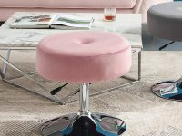 swivel-vanity-stool-with-adjustable-height-and-pink-upholstery-color-options
