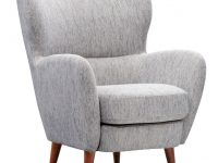 Tiffin Accent Chair – Gray within Chair Living Room Furniture