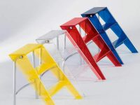transparent-plastic-colorful-step-ladder-heavy-weight-capacity-for-modern-homes