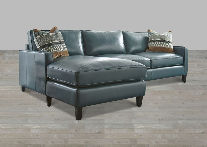 Turquoise Leather Sectional With Chaise Lounge regarding Best of Leather Sectional Sofa
