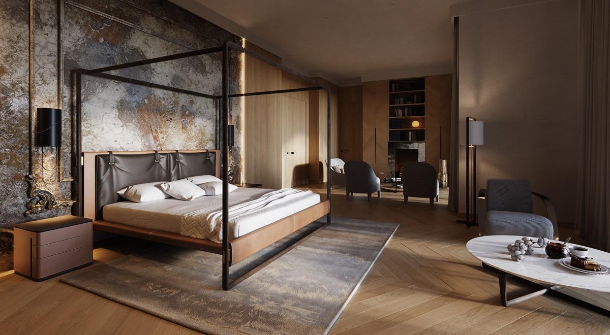 unique-dark-masculine-theme-for-transitional-bedroom-design
