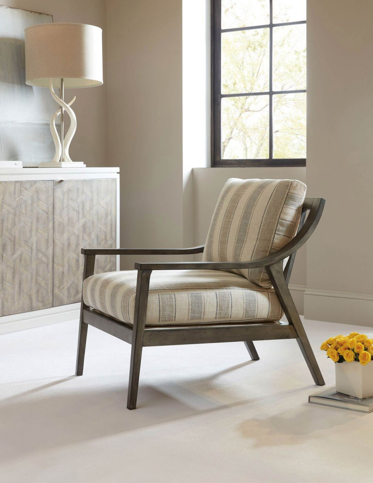 Updated Classics & Trendy Transitional Home Furnishings | Sam Moore within Awesome Chair Living Room Furniture