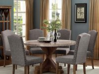 Vesper Dining Dining Set With Round Tablecrown Mark At Royal Furniture regarding Dining Room Sets