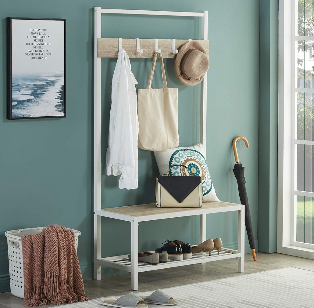 white-and-wood-hall-tree-bench-with-shoe-storage
