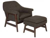 Wilber Lounge Chair And Ottoman with Unique Lounge Chair Living Room Furniture