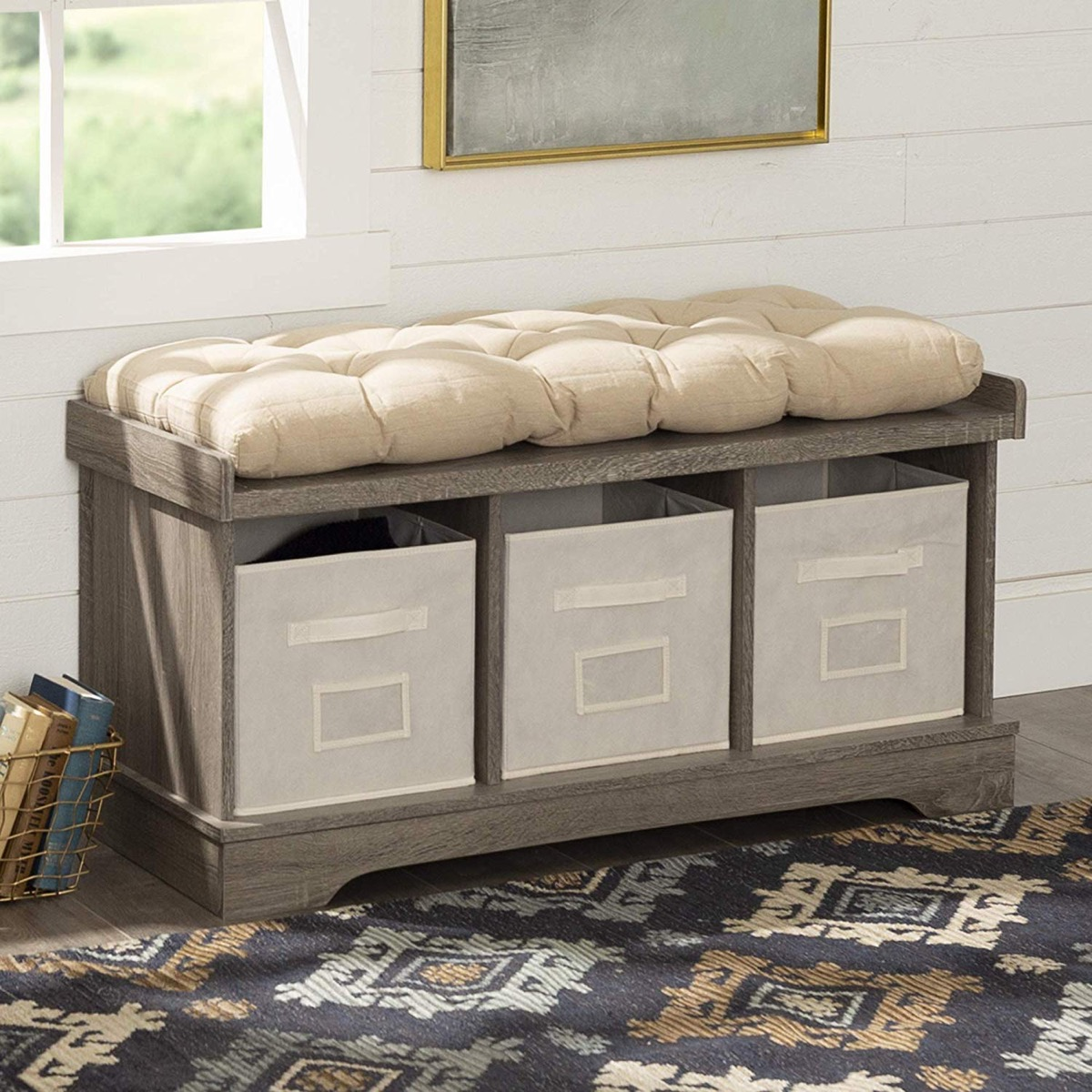 Cool 51 Storage Benches To Streamline Your Seating And Storage Beatyapartments Chair Design Images Beatyapartmentscom