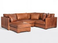 Wrenton 5-Piece Chaise Leather Sectional Sofa | Rejuvenation within Best of Leather Sectional Sofa