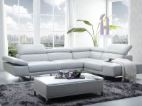 Xl Modern Right Hand Facing Leather Sectional with Best of Leather Sectional Modern