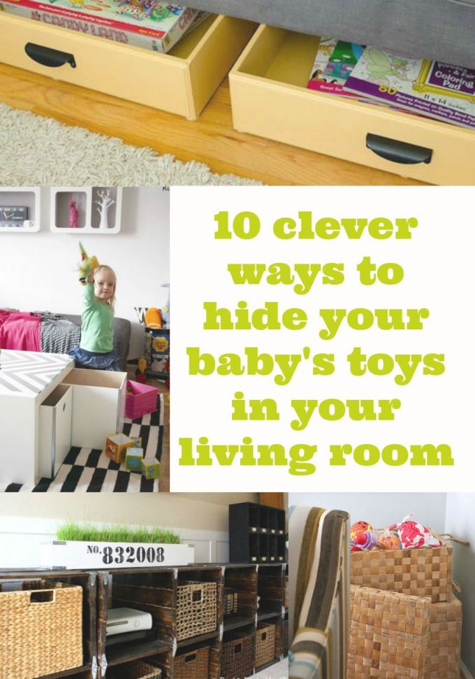 10 Ways To Hide Baby Stoys In Your Living Room, Toy Storage within Living Room Toy Storage Ideas