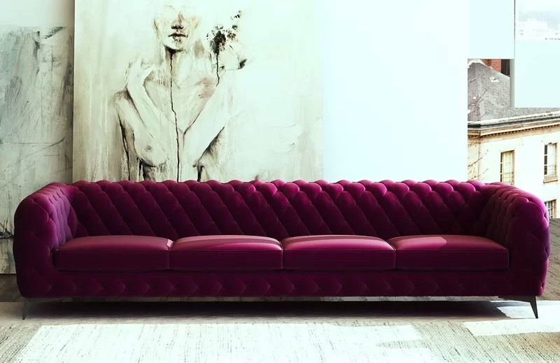 10ft-long-tufted-sofa-in-luxurious-burgundy-wine-upholstery-for-warehouse-lofts-offices-formal-living-rooms