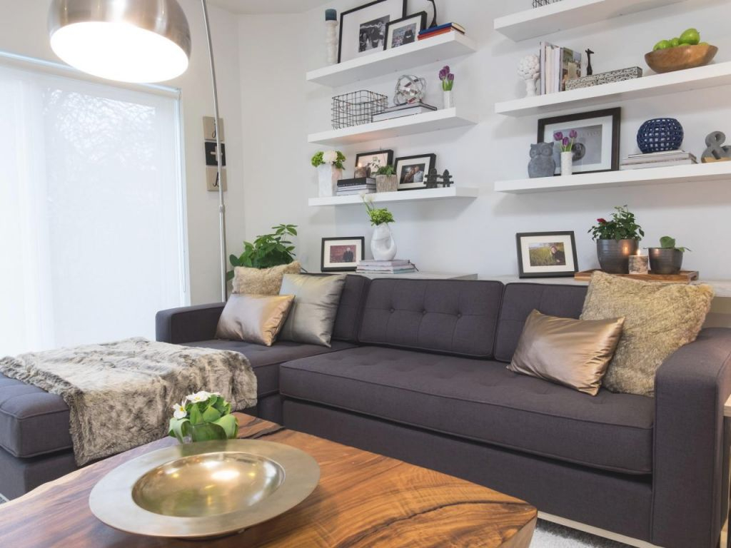 12 Living Room Ideas For A Grey Sectional Hgtv S Pertaining To Best Of Dark Gray Couch Living Room Ideas Awesome Decors