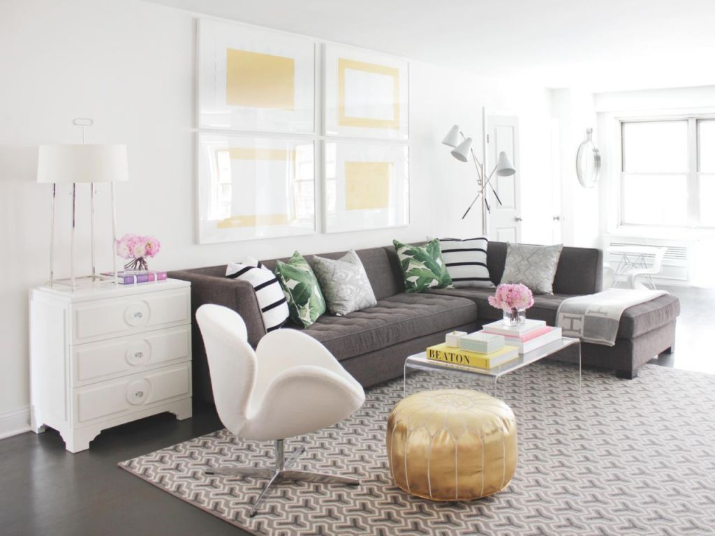12 Living Room Ideas For A Grey Sectional | Hgtv's with regard to Best of Dark Gray Couch Living Room Ideas