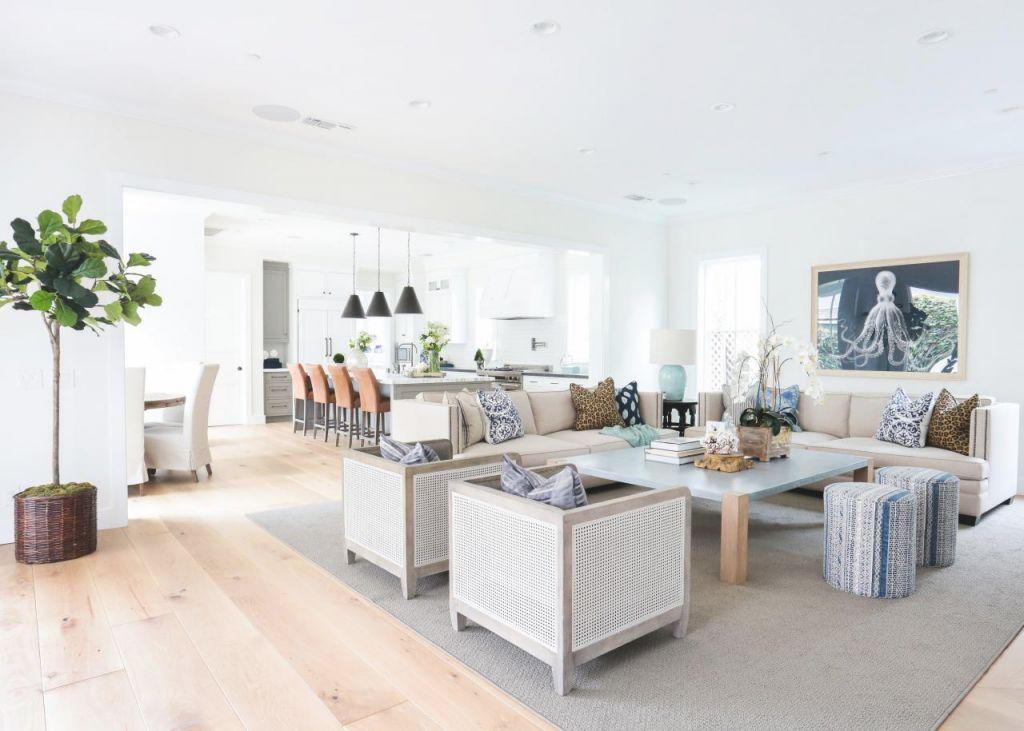 13 Coastal-Cool Living Rooms | Hgtv's Decorating & Design inside Coastal Living Room Ideas
