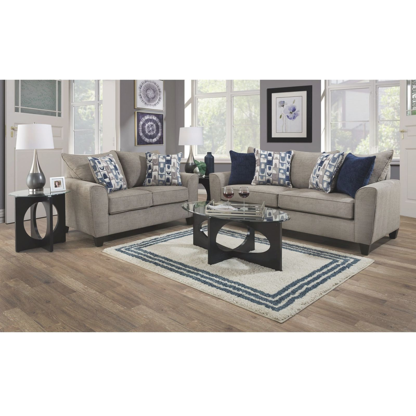 2-Piece Eden Living Room Collection for Cheap Living Room ...