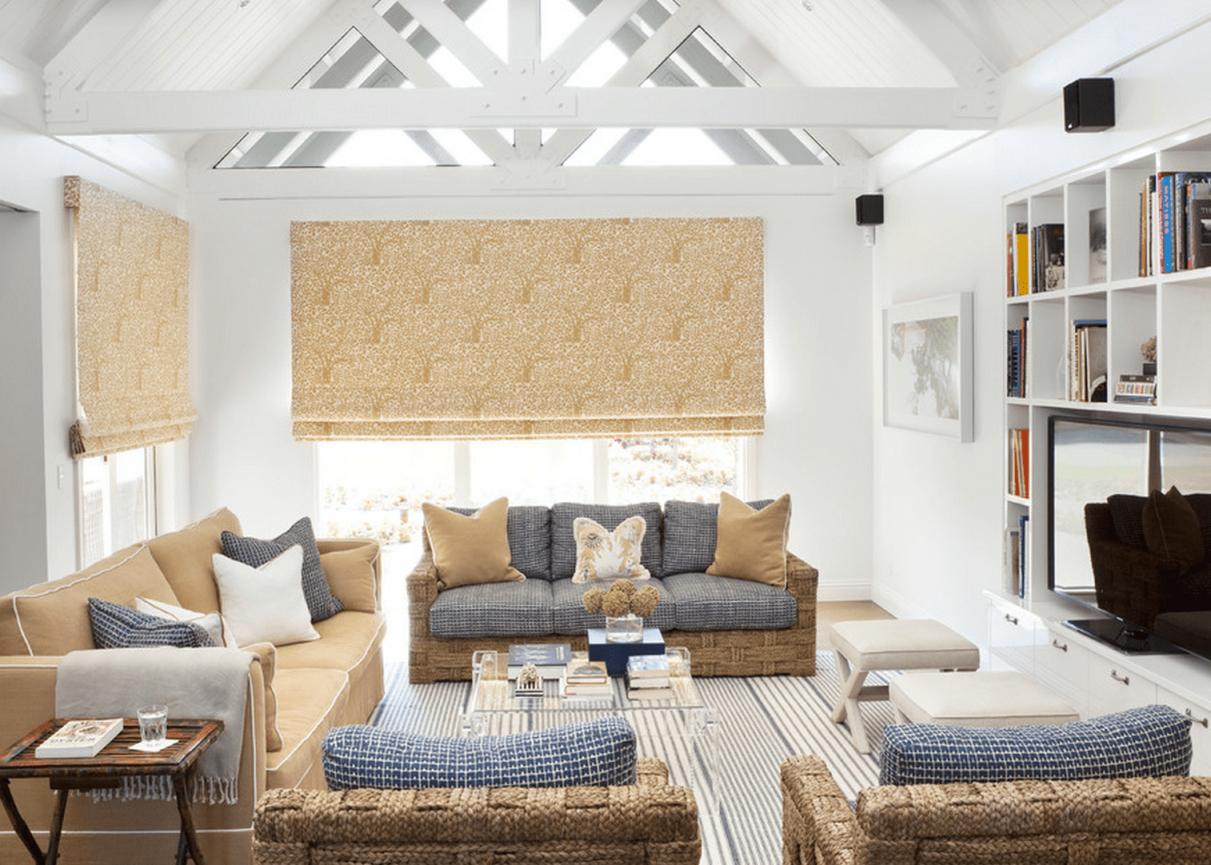 20 Beautiful Beach House Living Rooms pertaining to Coastal Living Room Ideas