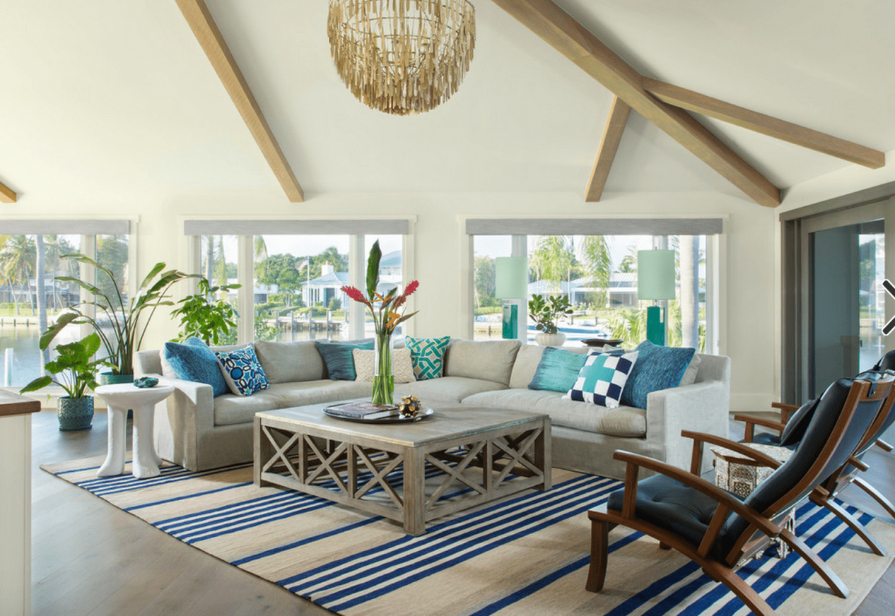 20 Beautiful Beach House Living Rooms With Coastal Living Room Ideas Awesome Decors