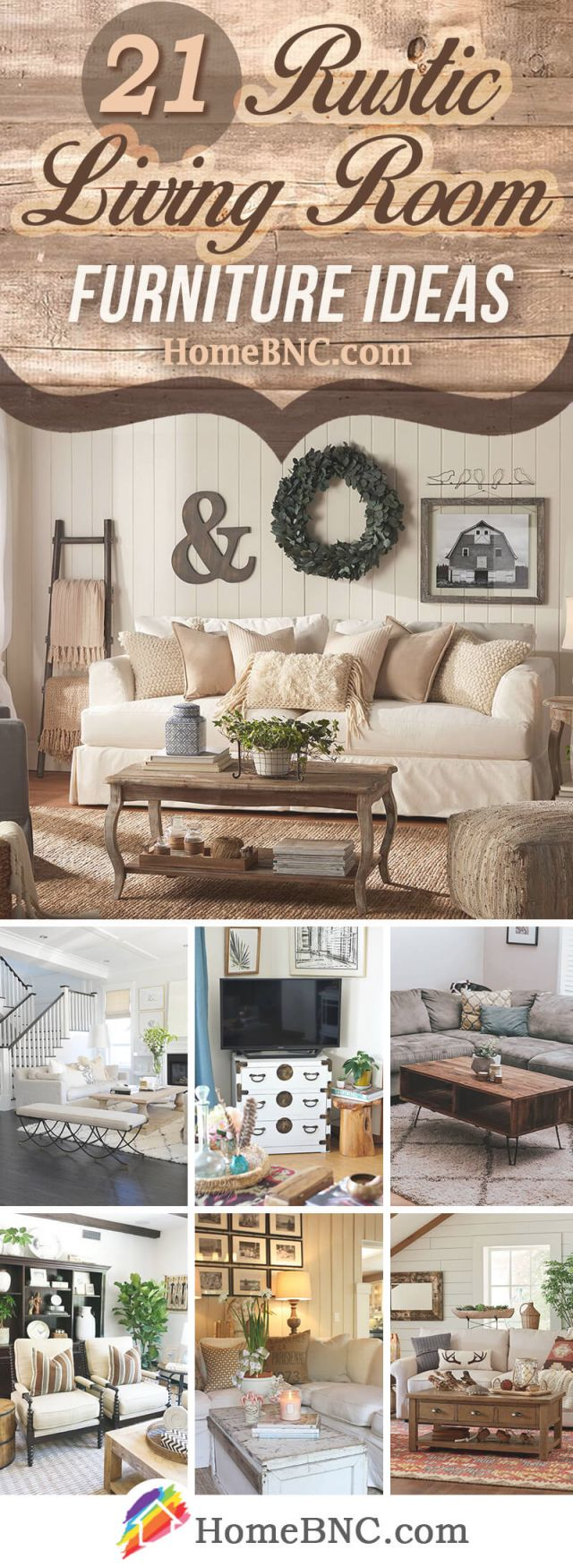 21 Best Rustic Living Room Furniture Ideas And Designs For 2019 with Rustic Living Room Furniture