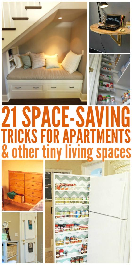 21 Space Saving Tricks & Small Room Ideas in Elegant Space Saving Living Room Furniture