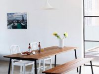 3-Seat-Dining-Bench-Black-Skinny-Legs-And-Wood-Planked-Seat-Dark-Brown