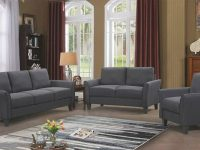 3 Piece Sofa Living Room Furniture Set Loveseat Chair Sectional Sofa Set Black with Camo Living Room Furniture
