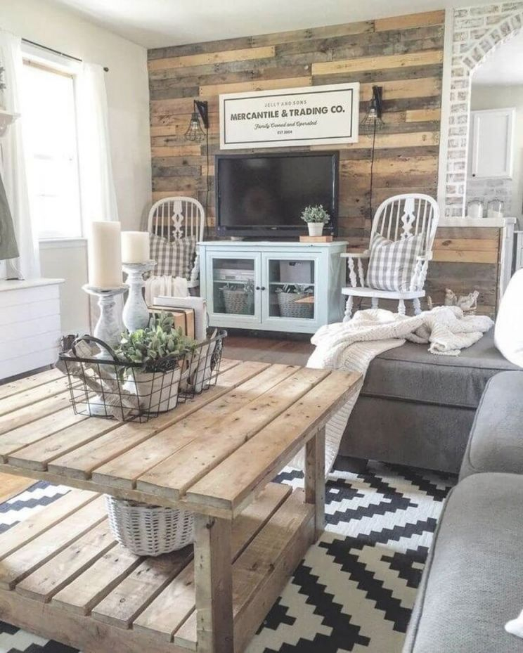 30 Elegant Farmhouse Living Room Ideas You Should Try – Diy within Rustic Living Room Furniture