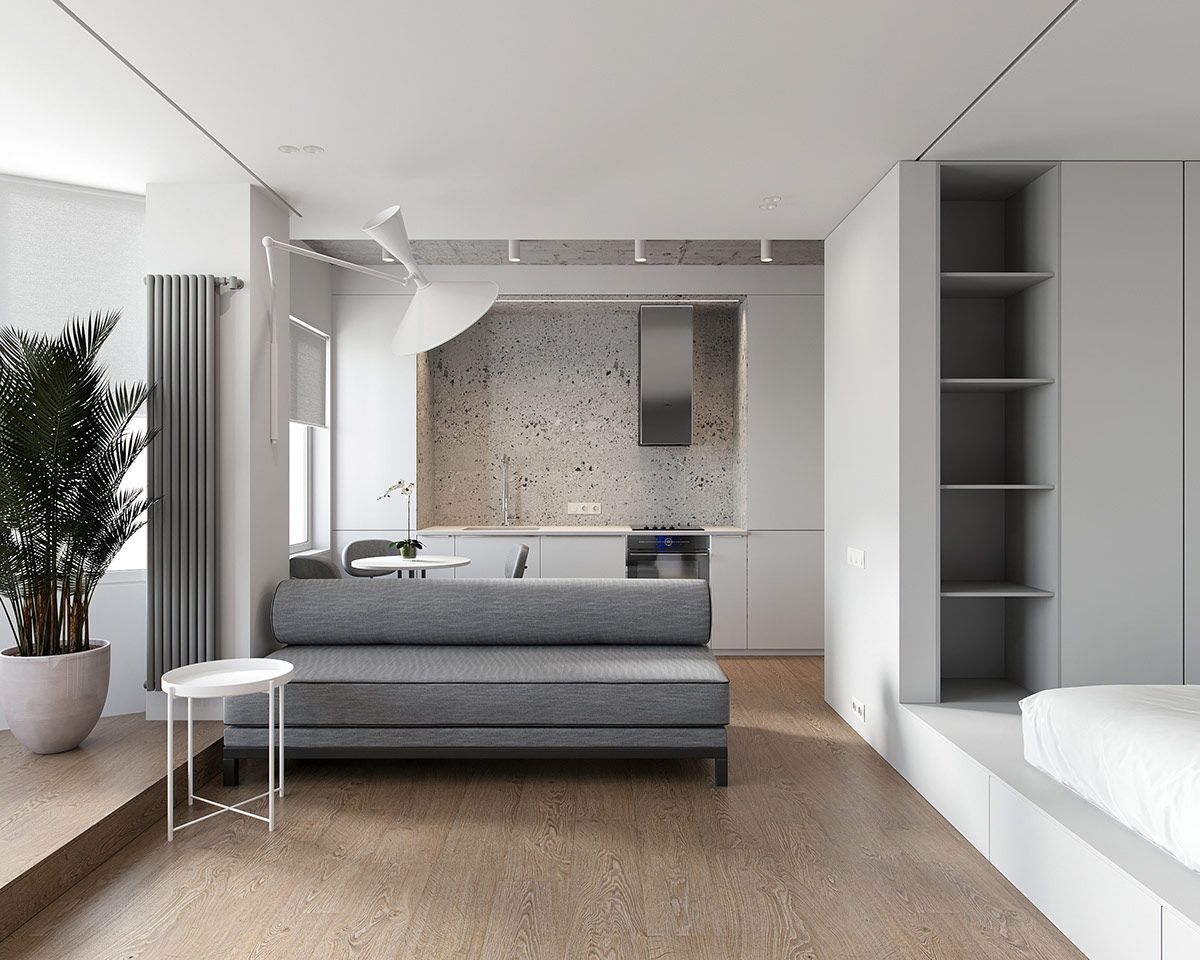 Minimalist Studio Apartments
