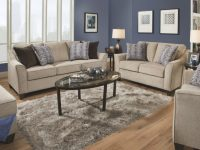 4330 Sofa & Loveseat Set In Alamo Taupesimmons W/options inside New Simmons Living Room Furniture