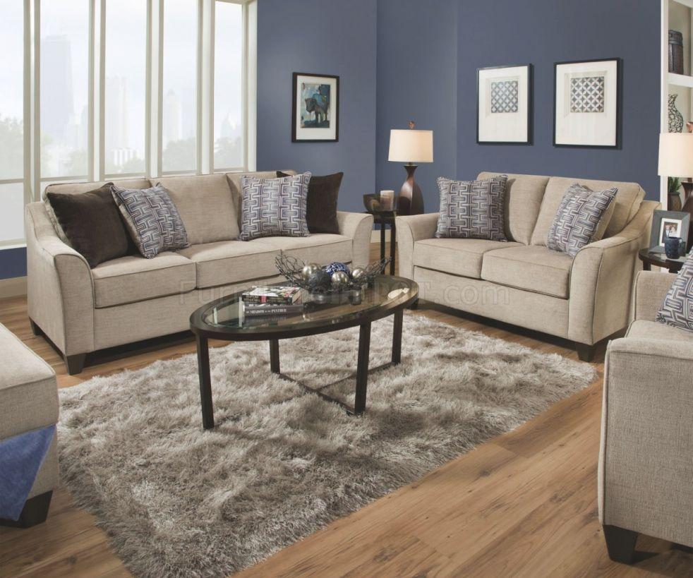 4330 Sofa & Loveseat Set In Alamo Taupesimmons W/options inside New Simmons Living Room Furniture