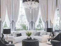 44 Beautiful Home Curtain Ideas For Your Interior Design To inside Unique Living Room Curtains Ideas