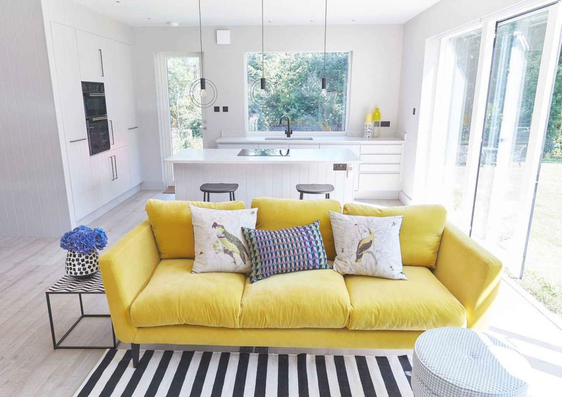 50 Inspiring Yellow Sofas For Living Room Decor Ideas Regarding Yellow Living Room Furniture Awesome Decors