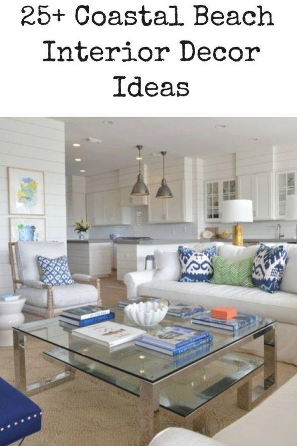 51+ Beach Coastal Decor Ideas | Country Decor In 2019 regarding Coastal Living Room Ideas
