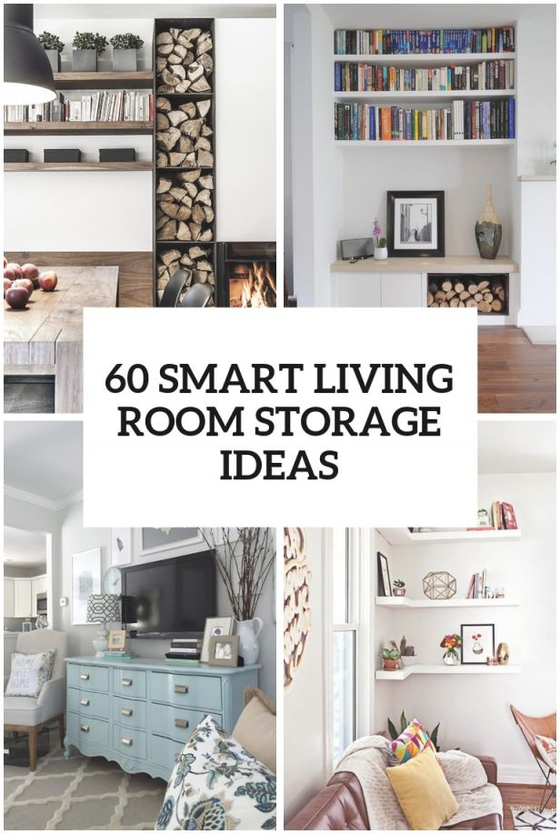60 Simple But Smart Living Room Storage Ideas with regard to Living Room Storage Ideas