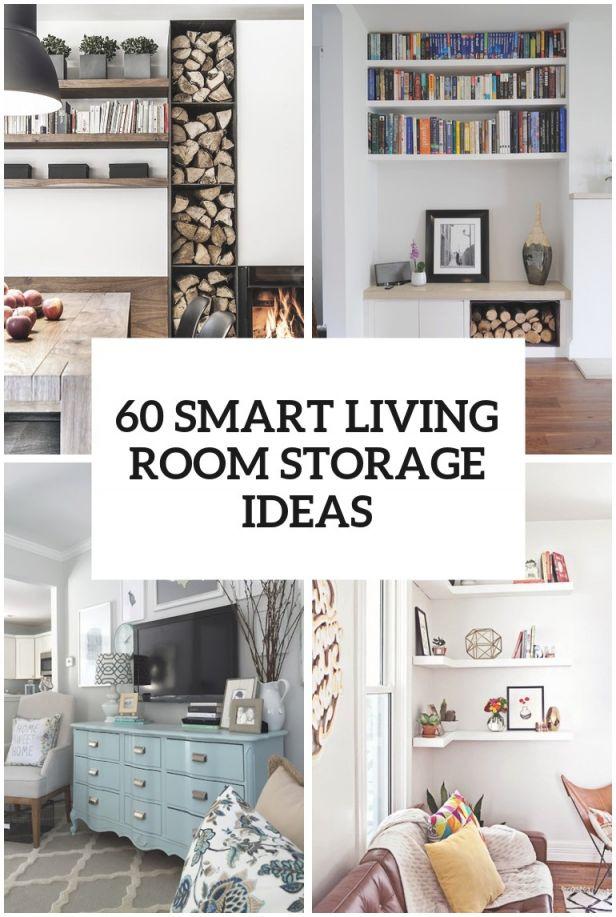 60 Simple But Smart Living Room Storage Ideas with regard to Living Room Storage Ideas