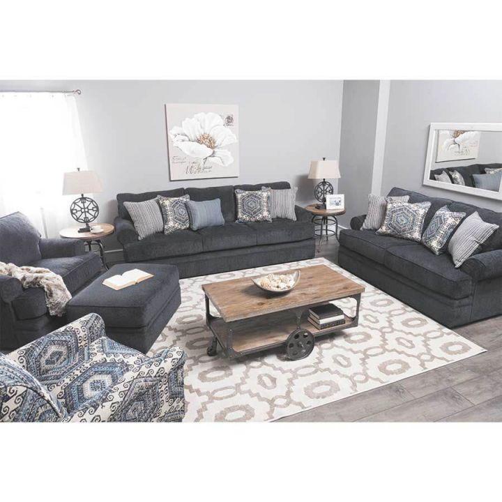 8530 Bellamy Slate Sofa And Loveseatsimmons with regard to New Simmons Living Room Furniture