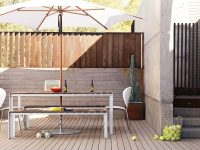 Modern-Aluminum-And-Teak-Outdoor-Dining-Bench-With-White-Legs-And-Wood-Planked-Seat