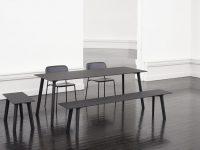 Modern-Black-Dining-Bench-Dark-Metal-Matte-Finish-Contemporary