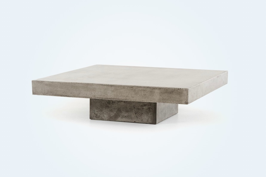 Modern-Rustic-Concrete-Coffee-Table-Rectangular-Low-Chunky-Grey