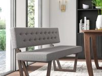 Modern-Upholstered-Dining-Bench-With-Back-Light-Grey-Tufted-Dark-Brown-Wood-Legs