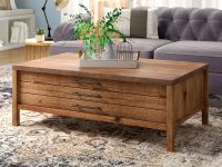 Rustic-Wooden-Coffee-Table-With-Pull-Out-Drawers-Flat-File-Storage-Living-Room