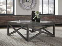 Square-Rustic-Gray-Coffee-Table-Butcher-Block-Top-Wood-And-Crisscross-Legs-Base