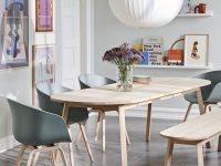 Triangle-Leg-Dining-Bench-Scandinavian-Seating-Ideas-For-Dining-Room-Light-Wood-Round-Edges