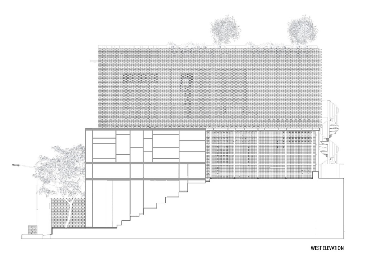 West-elevation-drawing