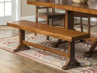 Wooden-Dining-Bench-Farmhouse-Style-All-Wood-Dark-Brown-Finish