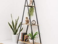 a-frame-ladder-shelf-three-tier-fits-large-plants-and-tall-books